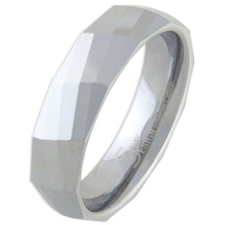 Diverse Mens Tungsten Ring