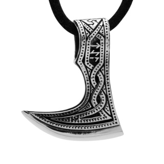 925 Silver Viking Axe Necklace