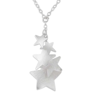 Heavenly Silver Necklace
