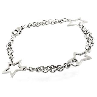 Stainless Steel Star Bracelet