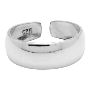 Polished 925 Silver Toe Ring