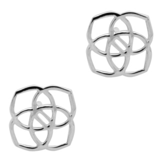 925 Silver Small Eternal Flower Stud Earrings