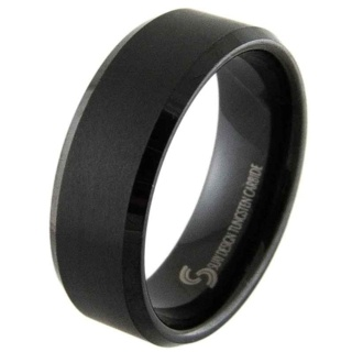 Recon Black VS2 Tungsten Ring
