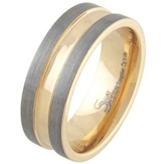 Intensify Mens Tungsten Ring
