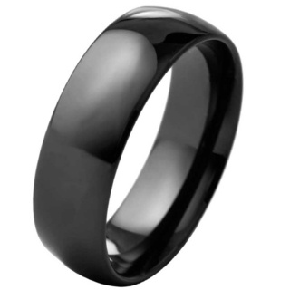 Reason Black Ceramic Ring