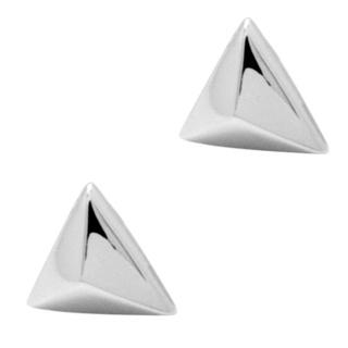 925 Silver Triangular Stud Earrings