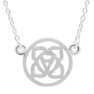 Silver Base Chakra Necklace