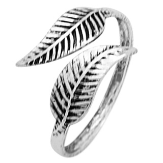 Silver 925 Feather Toe Ring