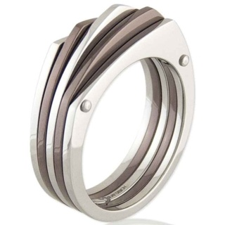 La Sal Coffee Steel Ring
