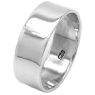 925 Silver Band Ring 7.5mm