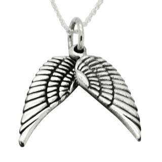 Silver 925 Angel Wings Necklace