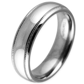Salute Titanium Ring