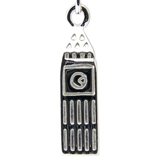 Silver Big Ben Clip on Charm