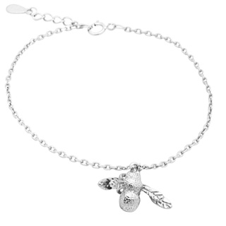 Silver Plated Bee Bracelet