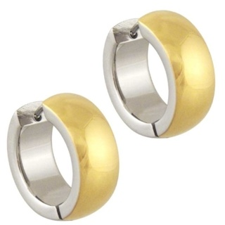 Solar Steel Earrings