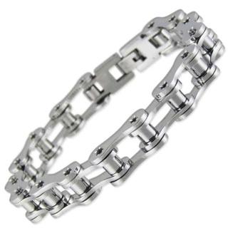 Moto GP Steel Bracelet