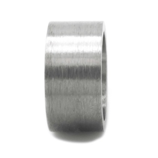 Medium Matt Titanium Bead