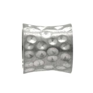 Matt Indented Concave Titanium Bead