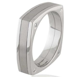 Converse Titanium & Steel Ring