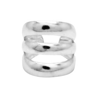 925 Triple Band Silver Ear Cuff