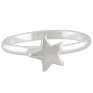 Silver Star Toe Ring