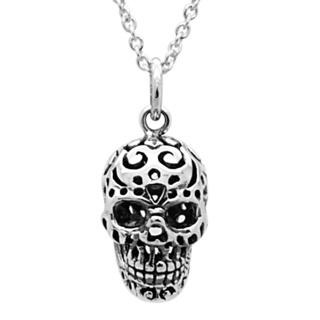 925 Silver Skull Necklace