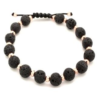 Hematite & Lava Stone Diffuser Bracelet