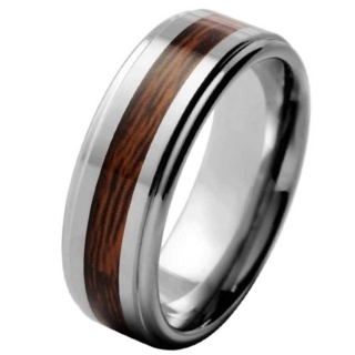 Ramble Tungsten Ring