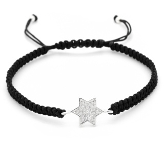 Adjustable Crystal Star Bracelet