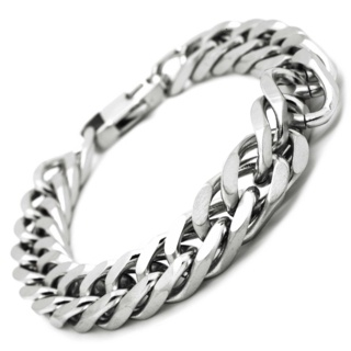 Satin Stainless Steel Curb Chain