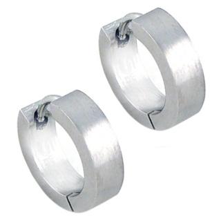 Role Steel Earrings