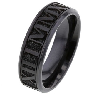 Custom Date Zirconium Ring