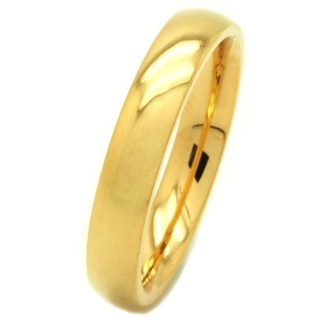 Gold Coloured Stainless Steel Ring
