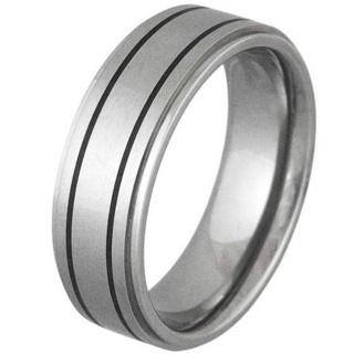 Moral Titanium Ring