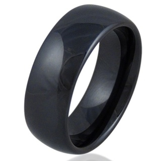 Black Trend Ceramic Ring
