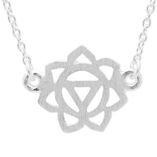 Silver Solar Plexus Chakra Necklace
