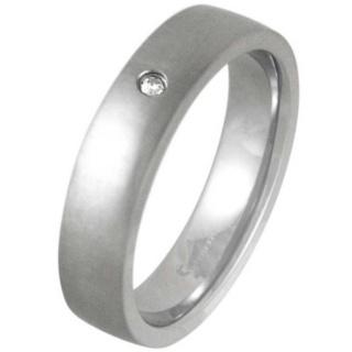 Legacy Cross Brushed Diamond Ring