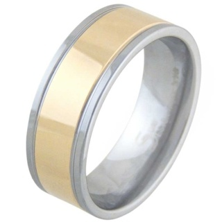 Tempt Mens Tungsten Ring