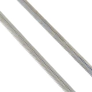 Flat Steel Snake Chain