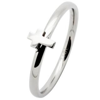 Thin Steel Cross Ring