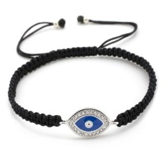 Crystal Evil Eye Black Friendship Bracelet
