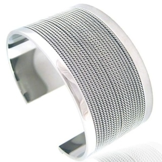 Aurelia Steel Bangle