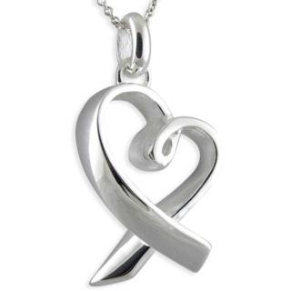 Liberty Silver Heart Pendant