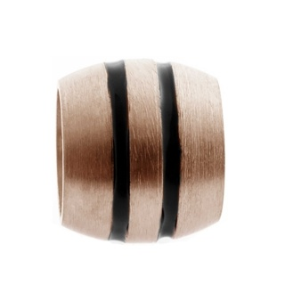 Rose Gold Titanium Bead