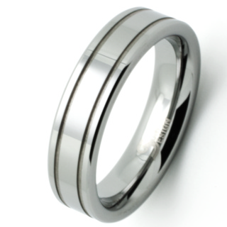 Profile Tungsten Ring