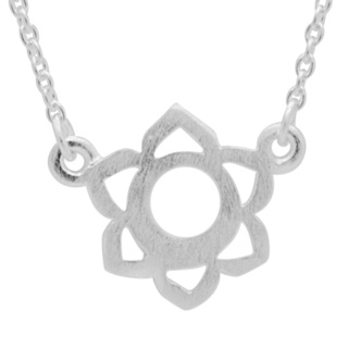 Silver Sacral Chakra Necklace